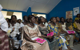 Gravida kvinnor Ghana. HIV-testas