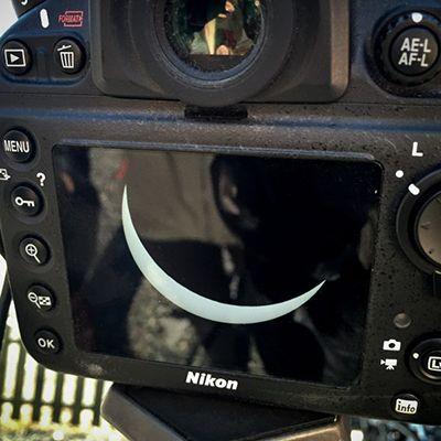 Solförmörkelse i kamera