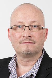Erik Jonsson, kommunikationschef, Norra Skogsägarna.